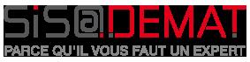 Sis@demat : Conseil et Expertise en GED / DEMATERIALISATION Logo